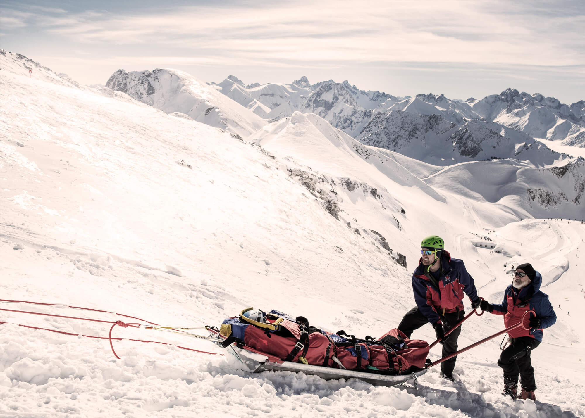 Rettungsdienst in Skigebieten