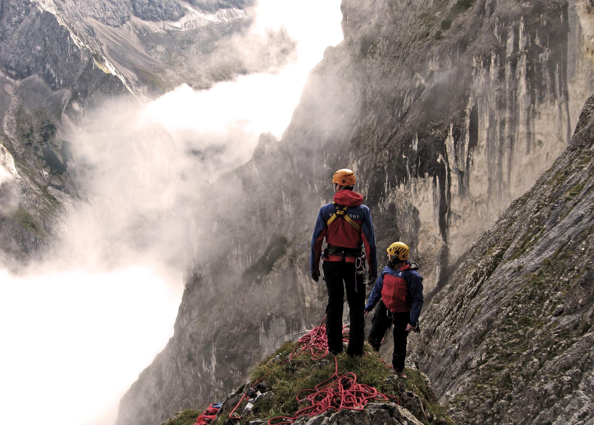 Unterstützen Sie die Stiftung Bergwacht